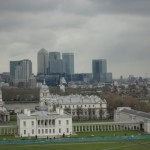View of Canary Wharf - Visiting Greenwich - being30.com