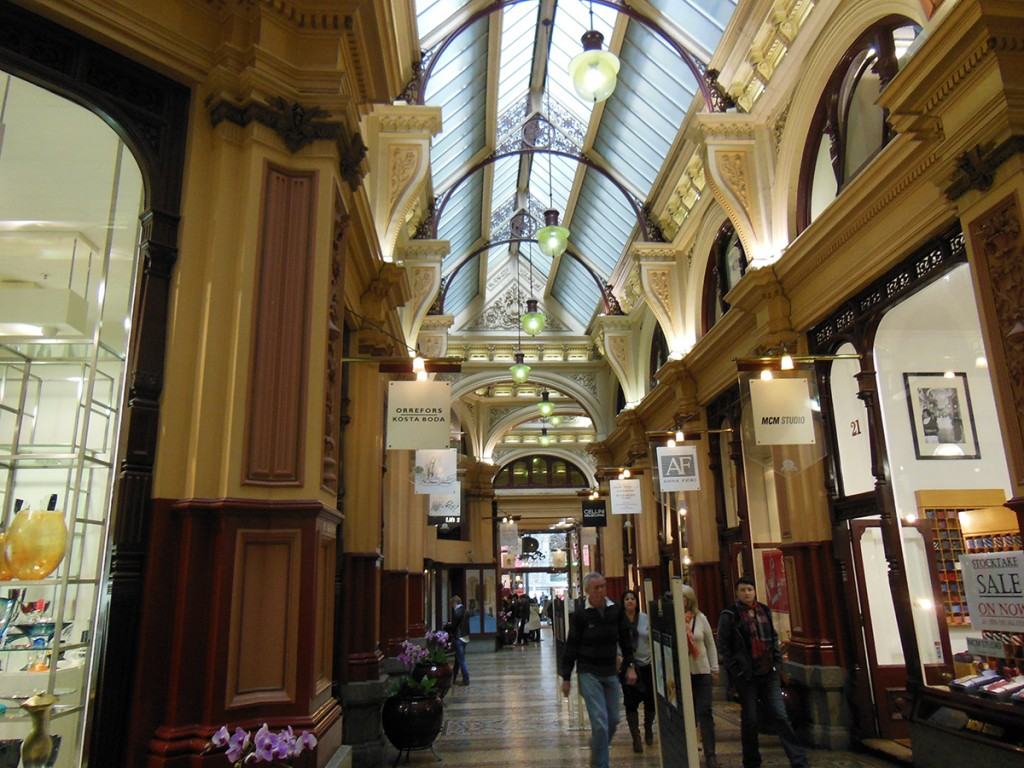 Shopping in Melbs