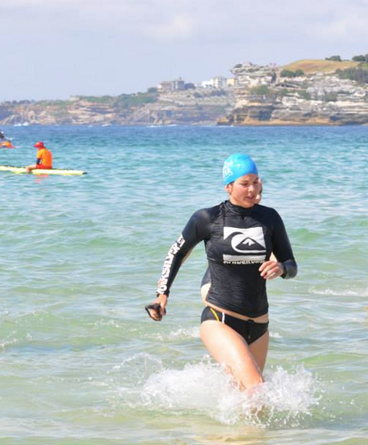 Taking part in my first 2km Ocean Swim at 32