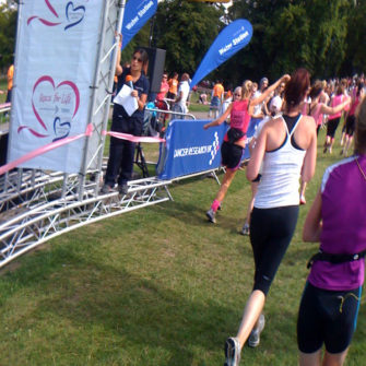 Race for Life Jo Turnbull