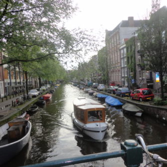 Canals in Amsterdam - being30.com