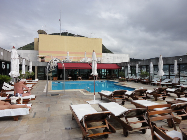 Pool at Hotel Atlantico Copacabana - being30.com