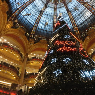 Paris on a budget - Galleries Lafayette - being30.com