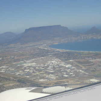 A View From the Plane of Table Mountain - being30.com