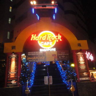 Weekend in Singapore - Hard Rock Cafe - being30.com
