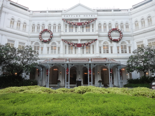 Weekend in Singapore - Raffles Hotel - being30.com