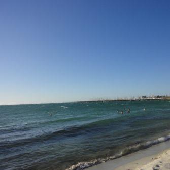 Christmas Down Under - Fremantle Beach - being30.com