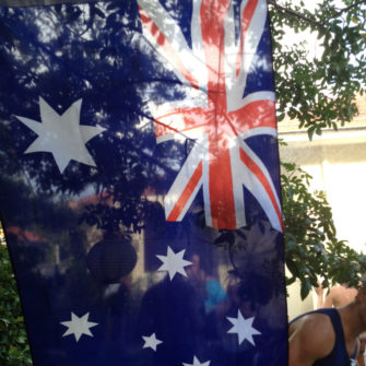Australian Flag - Havaianas Thong Competition - being30.com