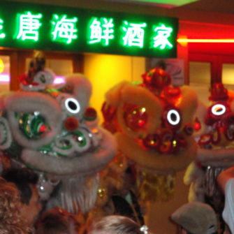 Lion Dancers - Chinese New Year - being30.com