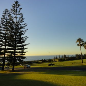 View of Cottesloe Gof Course and Beach - being30.com