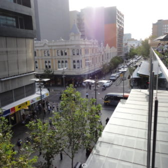 View From the Aviary - Bar Crawl in Perth - being30.com