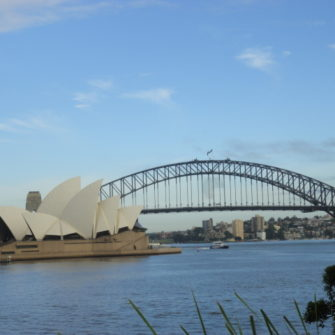 Sydney Harbour Bridge - View From Botanical Gardens -being30.com