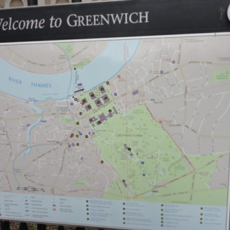 Map of Greenwich - Visiting Greenwich - being30.com