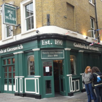 Traditional British Restaurant - Visiting Greenwich - being30.com