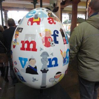 Big Egg Hunt - Easter in London - being30.com