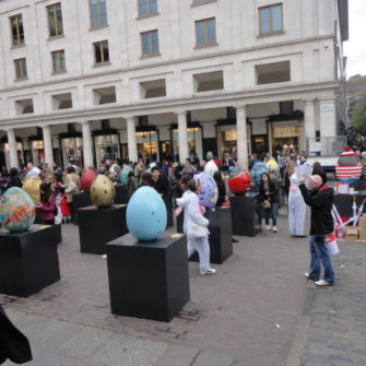 Covent Garden Piazza - Easter in London - being30.com