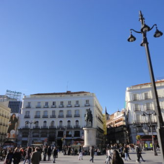 Plaza Sol - Studying in Madrid - being30.com