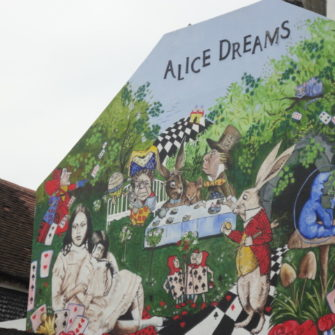 Alice in Wonderland Wall | Brighton