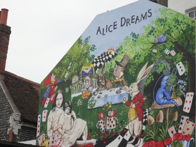Alice in Wonderland Wall | Brighton