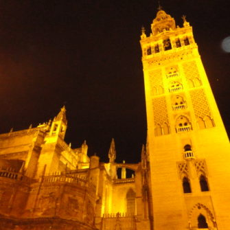Giralda at Night | Popular Attractions in Seville