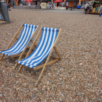 Deck chairs | Brighton Beach | being30.com