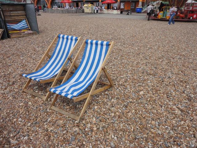 Deck chairs | Brighton Beach | being30.com