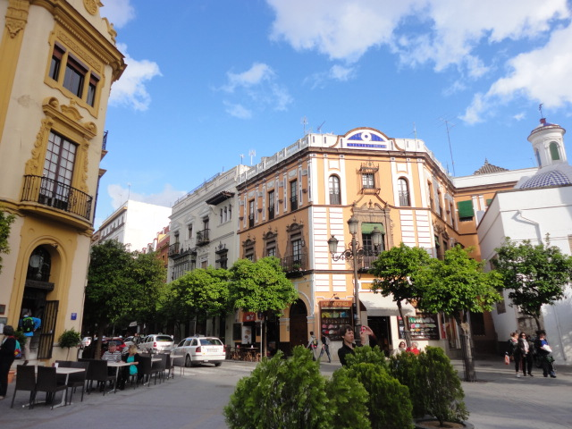Plaza in front of Cathedral | Attractions in Seville