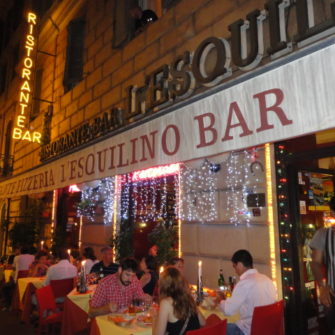 L'Esquilino | Restaurants in Rome | being30.com