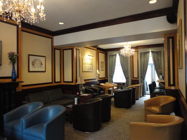 Lounge of Grange Langham Court Hotel | being30.com