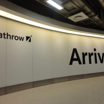 Heathrow Airport | Flying into London | being30.com