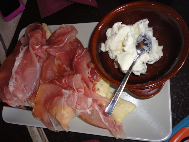 Having Lunch in a Typical Florence Restaurant
