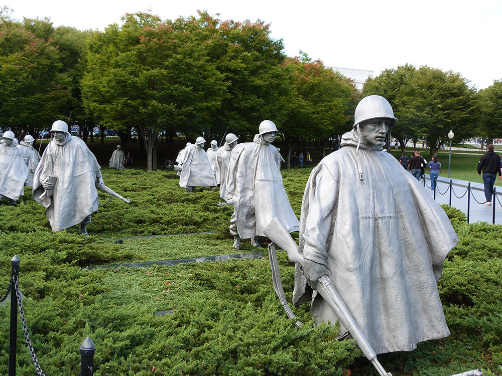 Korea war memorial