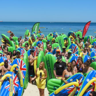 Australia Day Havaianas Thong Competition 2013