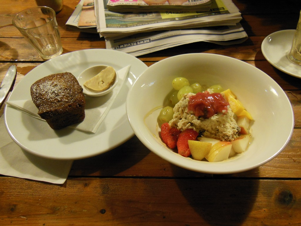 Bircher Muesli and Banana Bread