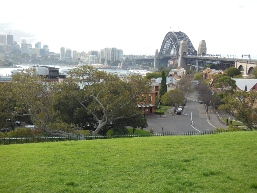 View from Walsh Bay