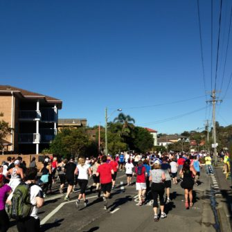 Runners City2Surf