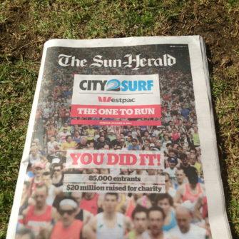 City 2 Surf paper