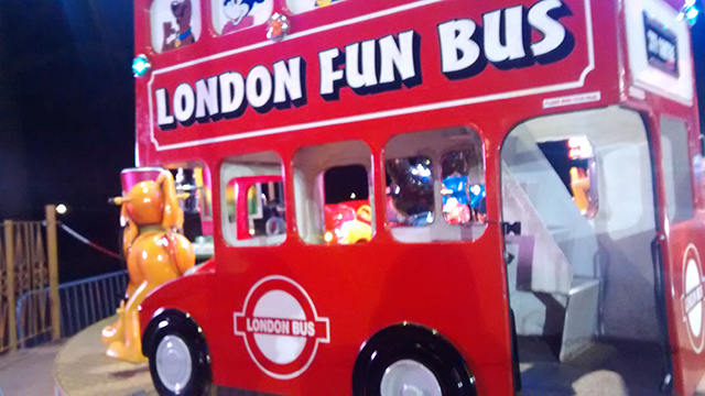 London fun bus