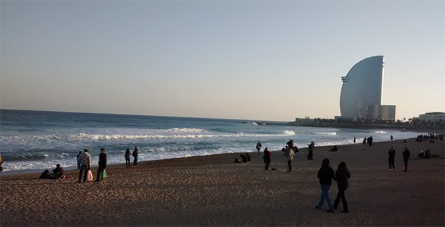Beach BCN