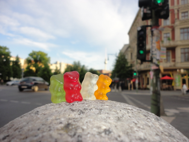 Gummi Bears on Tour Around the World