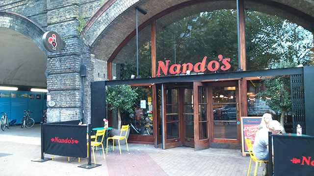 Nando's Outside