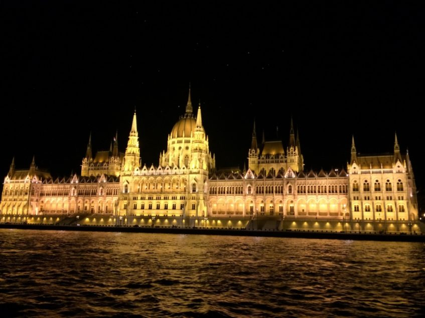 Parliament-at-night