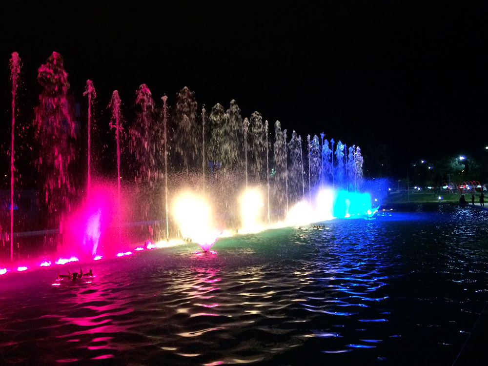 Fountains in Cochabamba