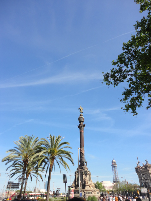 Christoper Columbus Statue