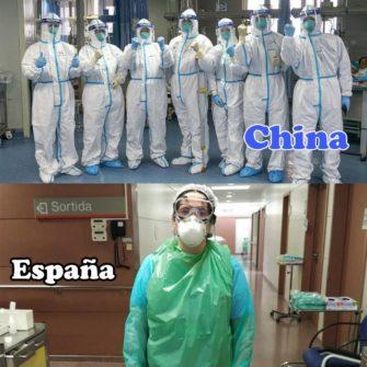 China vs Spain